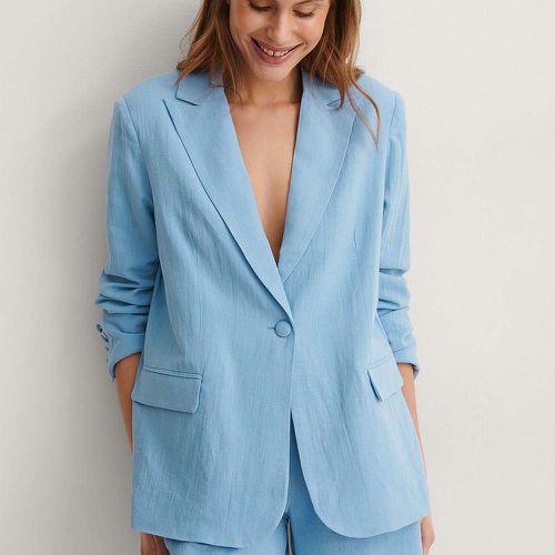 Linen Blend Oversized Blazer ($83.95)