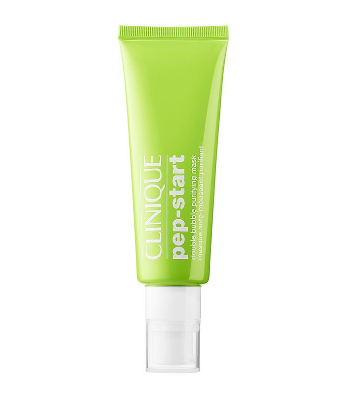 Best brightening face mask: Clinique Pep-Start™ Double Bubble Purifying Mask