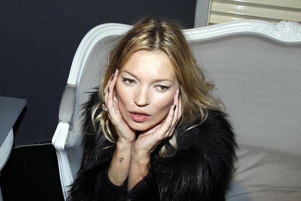 Kate Moss anchor wrist tattoo