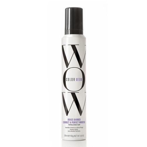 Color Wow Brass Banned Mousse for Blonde Hair