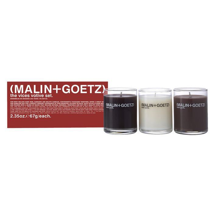 Malin + Goetz The Vices Votive Set