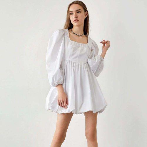 Sariyah White V-Neck Mini Dress ($25)