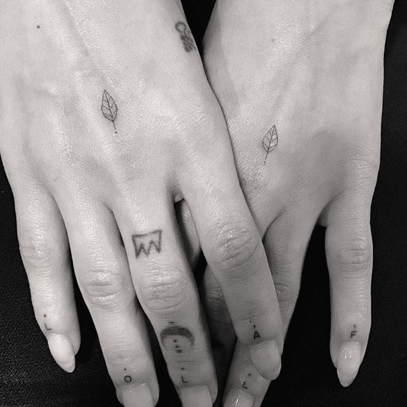 Zoe Kravitz tattoo