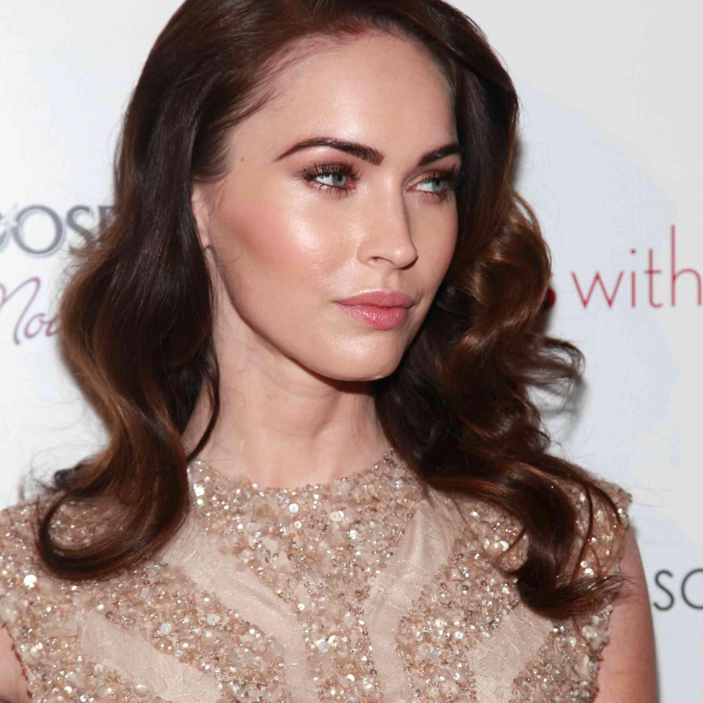 Megan Fox eye makeup look The Cinema Society 2012 event