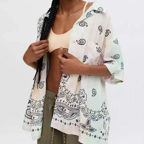 X-Girl Bandana Button-Down Shirt ($125)