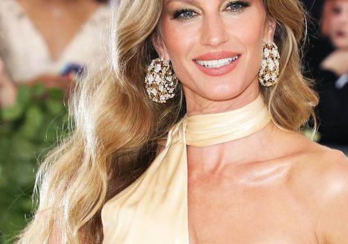 model Gisele Bundchen on the red carpet