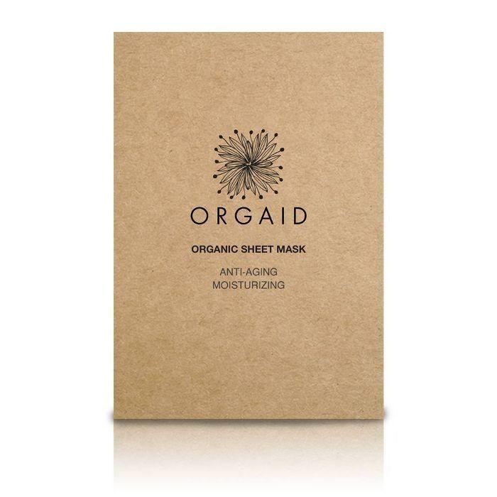 Orgaid Organic Sheet Mask Anti-Aging