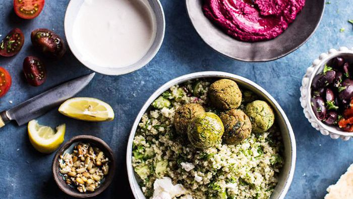 A Healthy Sample Mediterranean Diet Meal Plan