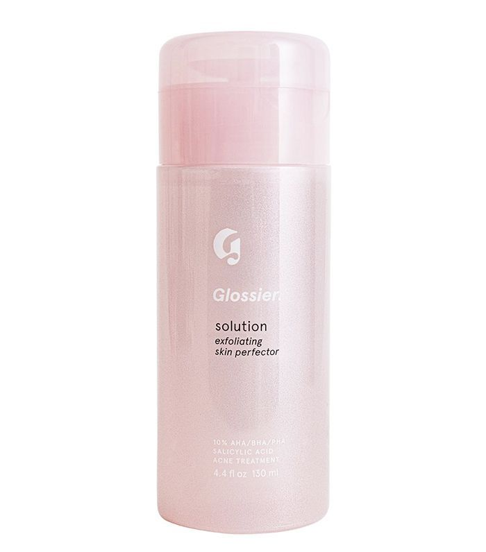 How To Exfoliate Correctly: Glossier Solution Exfoliating Skin Perfector