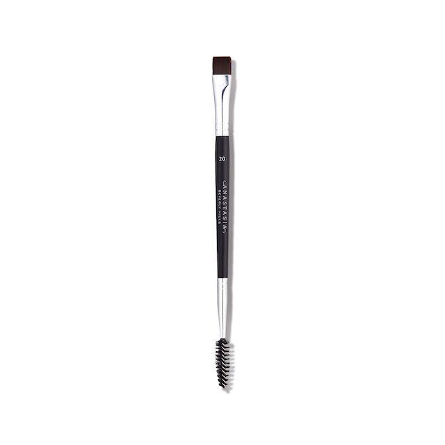Dual-Ended Flat Detail Brush