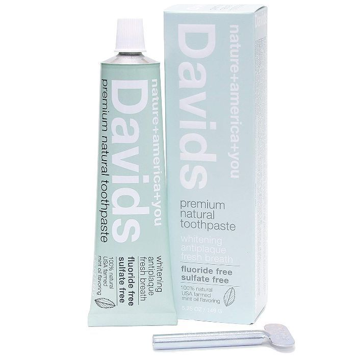 Davids Premium Natural Toothpaste