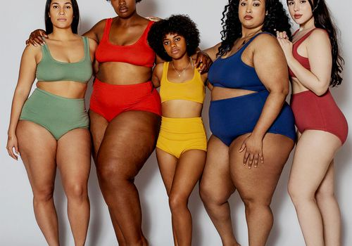 group of people diverse backgrounds body positive