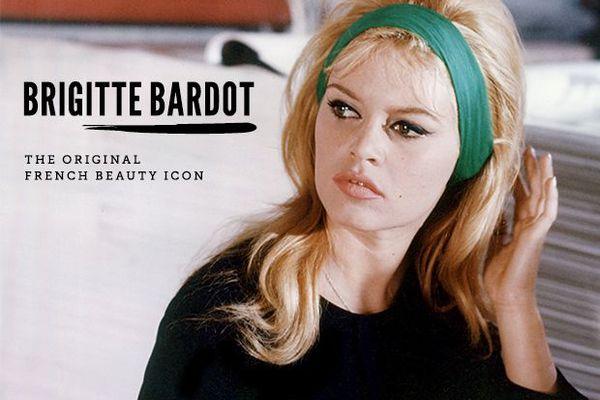 Brigitte Bardot beauty icon