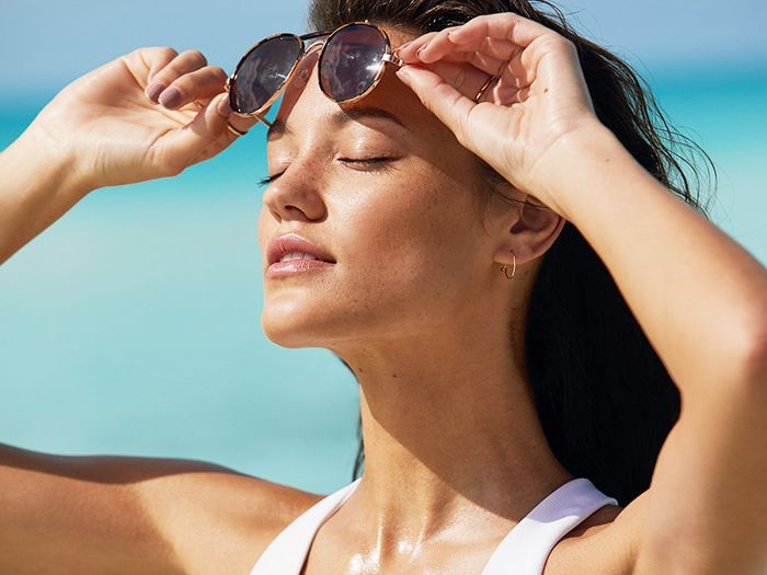beach-day beauty ideas