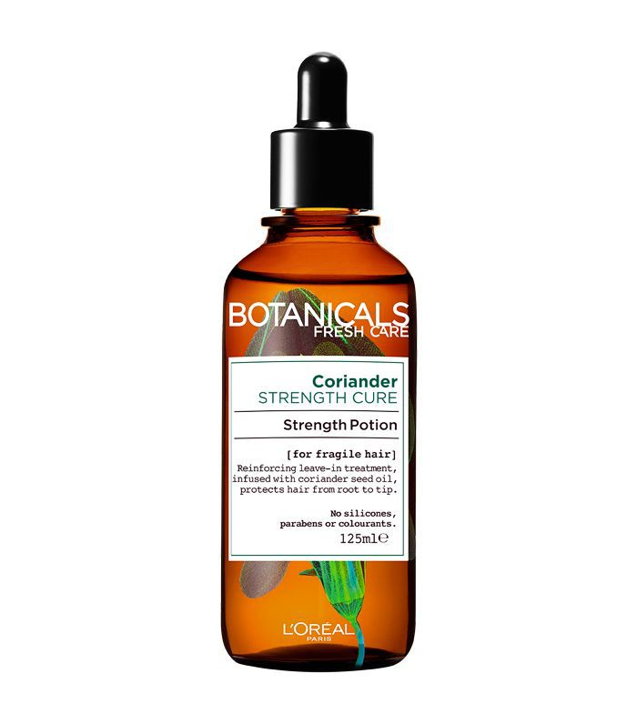 insider beauty edit: L'Oréal Paris Botanicals Coriander Strength Cure Strength Potion