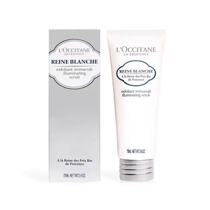 L'Occitane Reine Blanche Illuminating Face Scrub