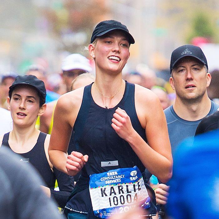 Workout recovery: Karlie Kloss NYC marathon