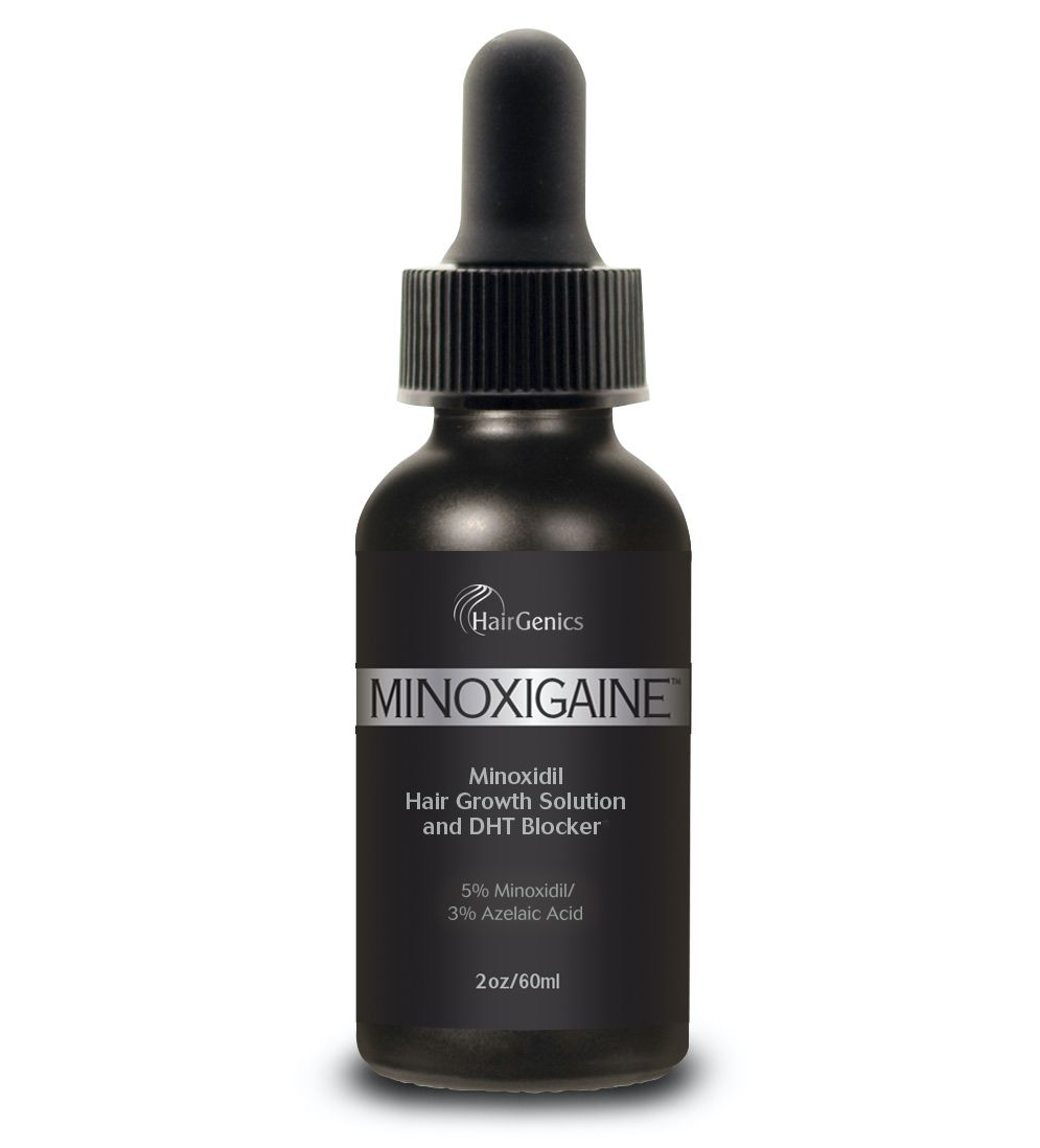 Hairgenics Minoxigaine Minoxidil Hair Growth Solution and DHT Blocker