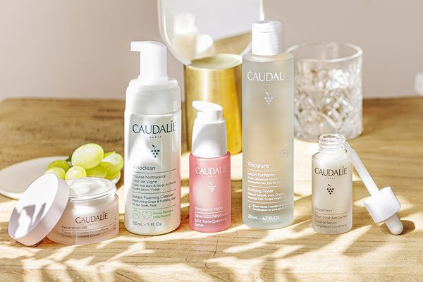 Caudalie skincare products