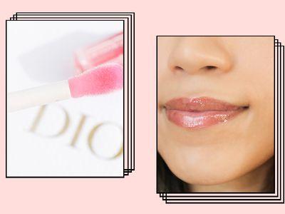 Dior Lip Glow Oil on Karla Ayala