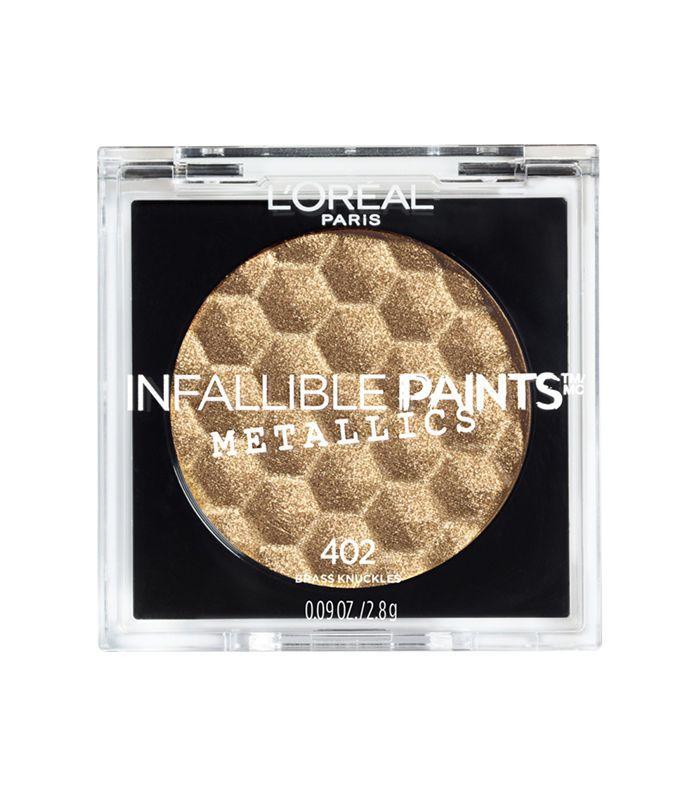 L'Oreal Paris Infallible Paints Metallic Eyeshadows - fall makeup trends