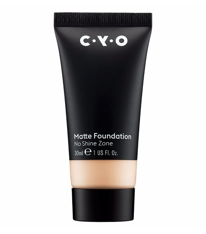 Best drugstore matte foundation: CYO No Shine Zone Matte Foundation