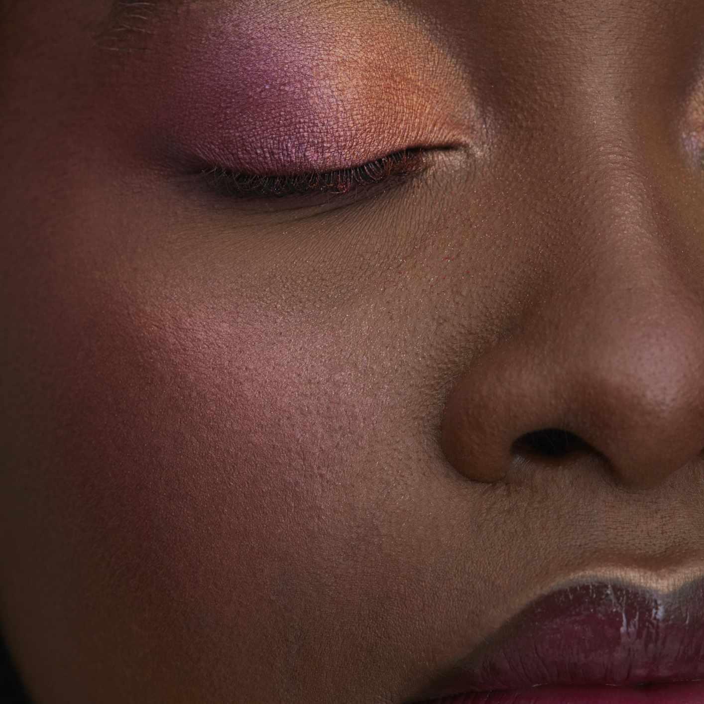 closeup of makeup