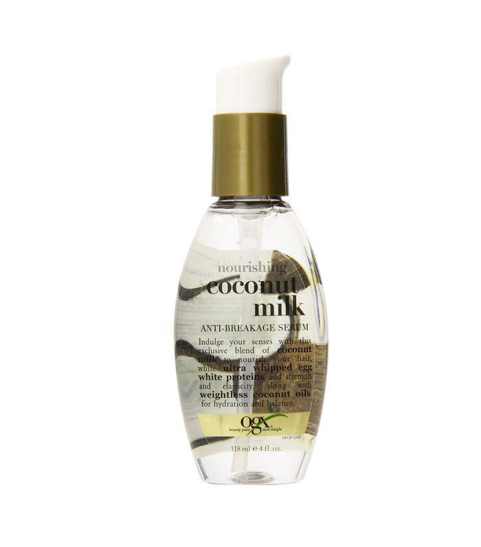 Best hair serum: OGX Nourishing Coconut Milk Anti-Breakage Serum